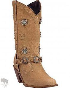 ff182c64da32 Women s Addie Retro Concho Harness Boots Round Toe by Dingo
