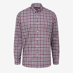New Arrivals | Red Plaid Regular Fit Shirt. #frenchconnectionau #fcuk