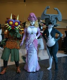 Legend of Zelda - Majora's Mask, Zora Princess and Midna (wicked) <--- pinning for the Zora queen