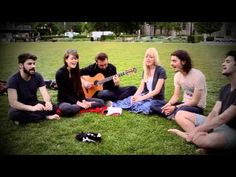 "Larkin Poe & The Shadowboxers spend an afternoon in the park in Pittsburgh, PA singing The Beatles' song ""Because"""