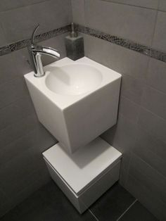"""Photo """"Lave mains WC RDC"""" - Décoration - WC"""