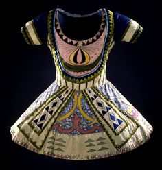 Léon Baskt, Tunic from costume for the Blue God, 1912 from Le Dieu Bleu, Ballet Russe