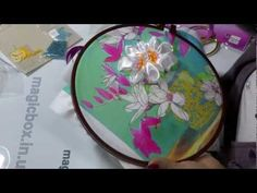 Ribbon Embroidery Stitches - Ribbon embroidery Video