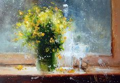Yellow Flowers Igor Medvedev