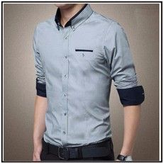 260f38ae4ae7 Muži Brand Shirt 2.015 New Luxury Slim Fit s dlhým rukávom značky Formálne  obchodné šaty Kockované