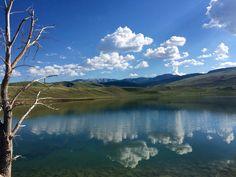Fishing outside of Cody, Wyoming