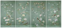 http://www.chinoiseriedecor.com/  Chinoiserie wallpaper panels from Oriental Studio, enjoy USD350 per panel prices, shipping free!