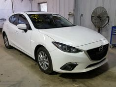 2016 #MAZDA 3 TOURING 2.0L for Sale at #Copart Auto Auction. Place Your Bid Now.