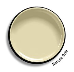 Resene Brie is a tasty creamy off-yellow.  From the Resene Multifinish colour collection. Try a Resene testpot or view a physical sample at your Resene ColorShop or Reseller before making your final colour choice. www.resene.co.nz