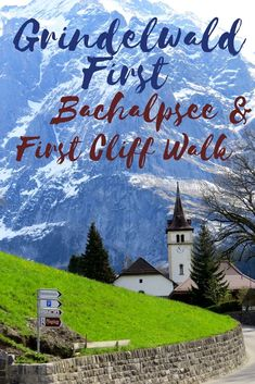 Grindelwald First Switzerland is a summit in Bernese Oberland which lures visitors for the Grindelwald First Lake Bachalpsee and the Grindelwald First Cliff Walk with vistas of the magnificent snowcapped mountains.