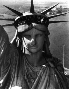 Statue of Liberty, Harbor View 1951 by Margaret Bourke-White