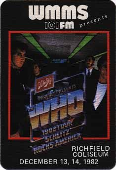 The Who Tour Pass