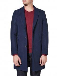Long slim fit coat