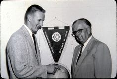 Biola's 7th and 5th presidents (Clyde Cook and Sam Sutherland)