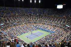 #bucketlist #atp #tennis #usopen #nightmatch #federer #newyork