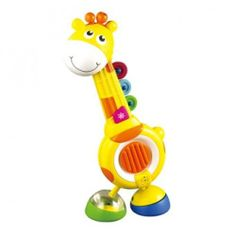 Musical GIRAFFE QUARTET Four Piece Music Play Set by Blue Box. $39.99. This is a musical toy designed as a Giraffe. It is a four piece music set. Each piece of the character is a musical instrument, including castanets, tambourine, kazoo and banjo.  ?For preschoolers ?Enable young children to experience the fun of playing music ?Easy to play with  Musical Giraffe quartet - laughs and fun galore as hidden surprises are discovered in this smiley musical giraffe. Hidden in his feet ...
