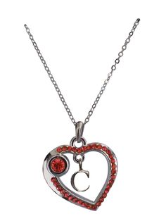 Love Collection Necklace- Red- C item# 31427