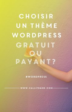 Il existe des thèmes wordpress gratuits et payants. Mais, quelle est la différence si ce n'est le prix? Un petite comparaison pour mieux comprendre!
