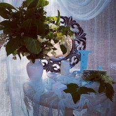 Фото сессия утро невесты декор Оксана Бакуменко
