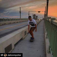 #Repost @daltonmpotter  Skating augietown is always chill.  #staugustine #bridgeoflions #skateboarding #sunset #rushkaligo #travel #instatravel #travelgram #tourist #tourism #vacation #traveling #trip #staugustinebuzz #staugustinefl #skateboarding #skate #staugustine #staugustinefl #staugustinebuzz #instagram