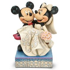 Mickey and Minnie Mouse ''Congratulations!'' Figure by Jim Shore | Figurines & Keepsakes | Disney Store