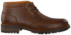 Cognac Van Lier Geklede schoenen