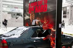 A Good Day to Die Hard promotion in Oslo, Norway.