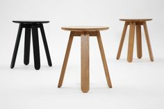 Half Full Stools by Ross Gardam. Available from Stylecraft.com.au