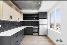 Kitchen Cabinets And Granite, Custom Kitchen Cabinets, Granite Countertops, Marble Bath, 2 Bedroom Apartment, Floor To Ceiling Windows, Eat In Kitchen, Dining Furniture, Brooklyn