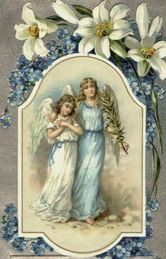 Vintage Easter Angels