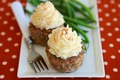Receitas e Sabores do Mundo: Cupcakes de Carne Moida - Dieta Dukan
