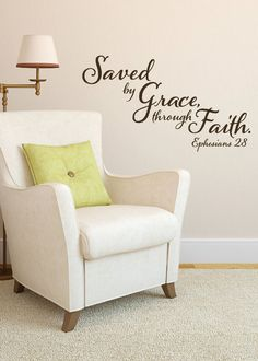 Ephesians 28 Saved by Grace through Faith by WildEyesSigns, $30.00
