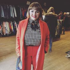 We love this lady! Always at our fairs and looking super glam! #vintagestyle #bdvoutandabout #britaindoesvintage