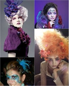 5 Creative Hairstyles for Halloween with Colored Hair Extensions