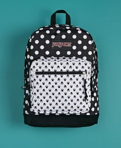 Minnie Mouse | Polka Dots | Disney Jansport Backpack | Disney Style | Mochila Jansport Disney | @dgiiirls
