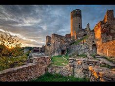 Руины замка Колмиц.