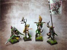 Goldmunds Welt: Wood Elves Lords & Heroes, Waywatchers, Dryads and Tree Kin