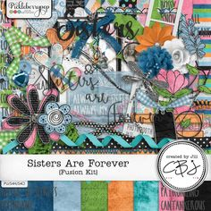 Sisters Are Forever - Fusion Kit By Created by Jill