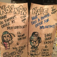 This Mom Makes Her Kids Groan Every Day With Amazing Lunchbag Puns Kale, Lunch, Mom, How To Make, Instagram, Collard Greens, Eat Lunch, Cauliflowers, Savoy Cabbage
