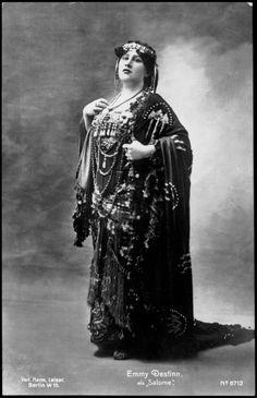 opera Emmy Destinn as Salome