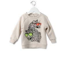 Stella McCartney - Cream Billy leopard print sweatshirt - AI15 - 11_f