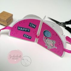 """Bloghop """"Eine runde Sache"""" - Tag 3 Happy Day, Circuit, Cards"""