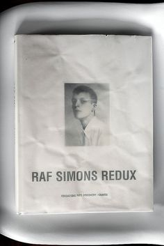 Make every bag unique with a glitch in the system  Raf Simons: Redux ph Emily Laye