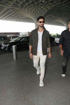 Mira Rajput, Shahid Kapoor, Hairstyle Look, Bollywood, Wallpapers, Blazer, Red, Jackets, Fashion