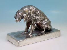 Wiener Bronze F. Gornik, Gießerei Artur Rubinstein versilbert
