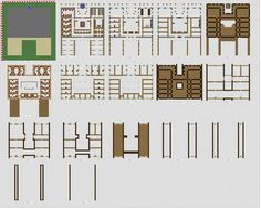 Minecraft House Blueprints Layer By Layer 02
