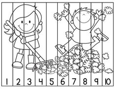 Thanksgiving Centers For Kindergarten Math Amp Literacy Kindergarten Literacy, Teaching Math, Preschool Activities, Educational Activities, Learning Activities, Kids Learning, Counting Puzzles, Number Puzzles, Math Numbers