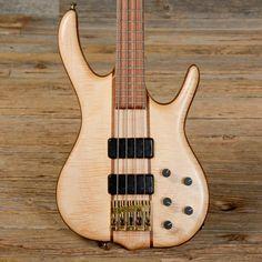 Ken Smith BSR4MW 4-String Bass Natural 2010 (sT10)