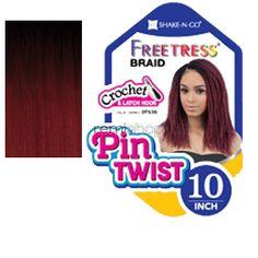 "Freetress Pin Twist 10"" - Color OT530 - Synthetic Braiding"