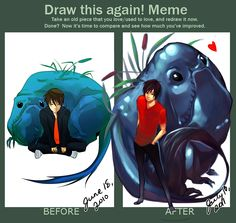 Draw This Again Meme by thelittlefirefly.deviantart.com